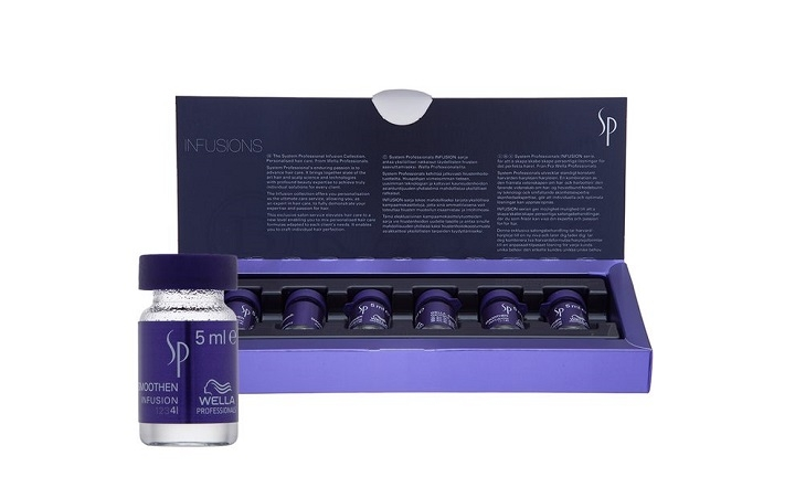 Wella SP Smoothen infusion 6шт*5мл Эликсир для гладкости любого типа волос