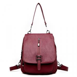 "MYST-9906-RED Рюкзак - сумка \""Myston\"", 2 в 1"