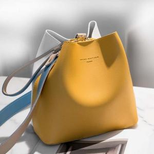 GB-203-YELLOW сумка-корзинка один из главных трендов нового сезона