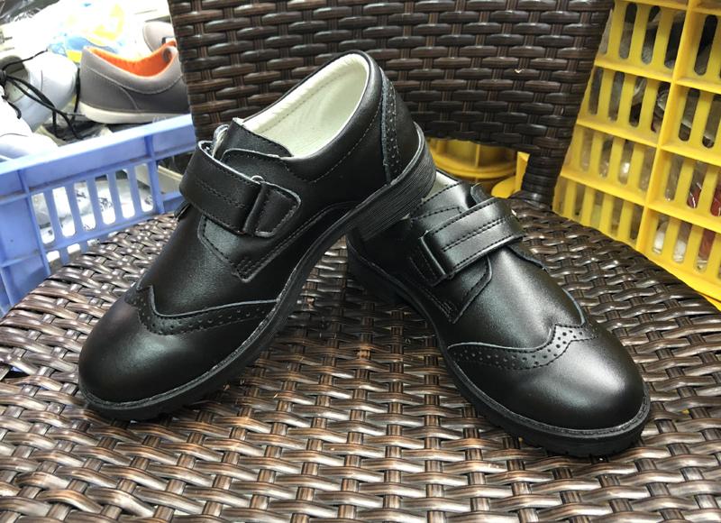Кожаные ботинки для школы от плоскостопия