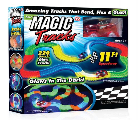 Волшебный трек/трасса конструктор Magic Tracks 220 деталей 111724