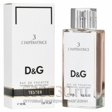 "Мини тестер Dolce & Gabbana \""3 L\'Imperatrice edt\"" 60 ml"