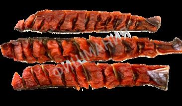 Юкола из спинки горбуши копчено вяленая 1кг, заказ от 250г