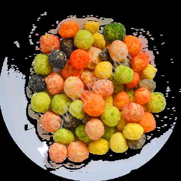 Сырные шарики со вкусами МИКС 1кг, заказ от 250г