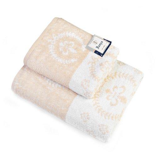 Махровое полотенце Валуа-капучино