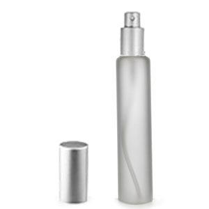 Трубка матовая 35мл (спрей люкс серебро)