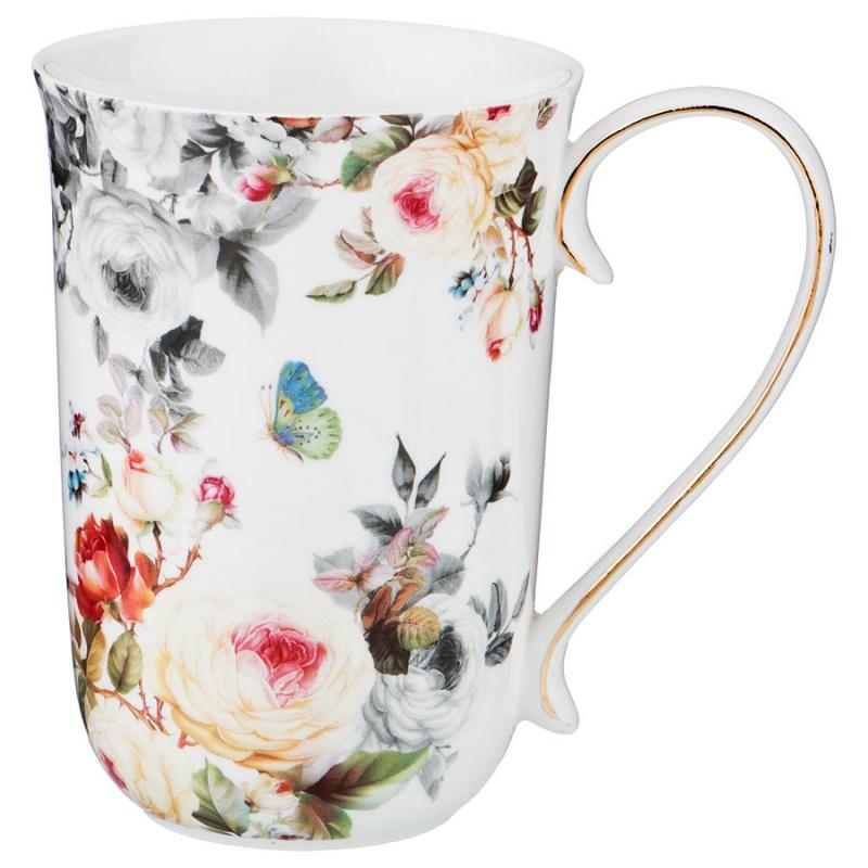 """Кружка Lefard 85-1476 \""""цветы\"""" 500 мл"""