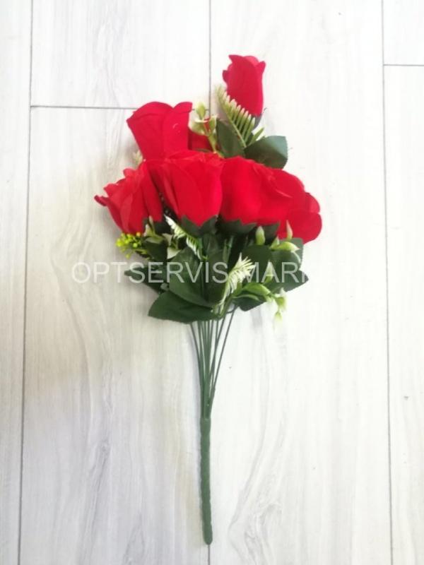 "Букет розы ""Терезина"", арт.СB173,h 50см, 10 голов d 5см"