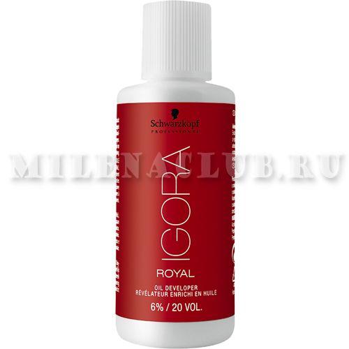 Schwarzkopf Igora Royal Лосьон-окислитель на масляной основе 6% 60 мл