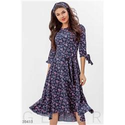 Стильное повседневное платье