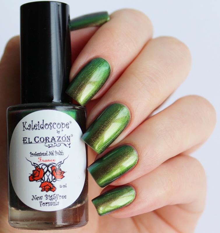 """EL Corazon® Kaleidoscope лак для ногтей  """"Лакоманьяк"""""""