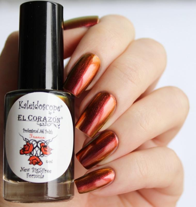 "EL Corazon® Kaleidoscope лак для ногтей  ""Лакоманьяк"" №Lm-06 \""Лакомир\"""
