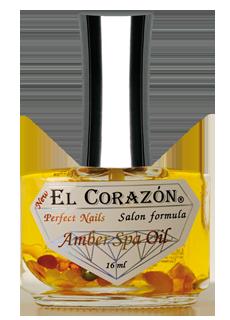 "El Corazon Perfect Nails №437 Мультивитаминная СПА-сыворотка для безобрезного маникюра с янтарем и лечебными маслами \""Amber Spa Oil\"" 16 мл"