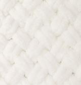 Пряжа для вязания Ализе Puffy (100% микрополиэстер) 5х100г/9.5м цв.062 молочный