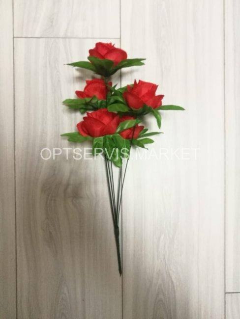 """Букет розы \""""Масей\"""", арт.СB168,h 41см, 6 голов d 6см"""