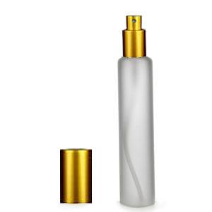 Трубка матовая 35мл (спрей люкс золото)