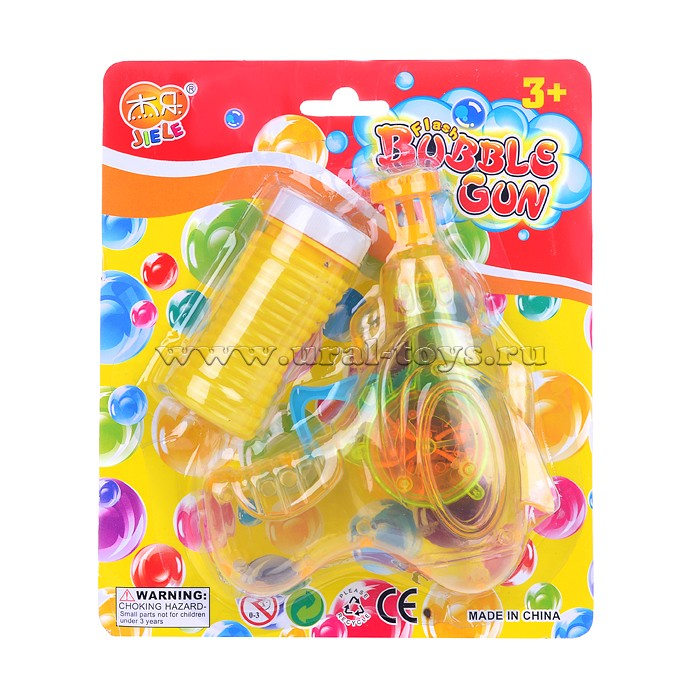 Мыльные пузыри U027637Y 60 мл, с пистолетом, на листе