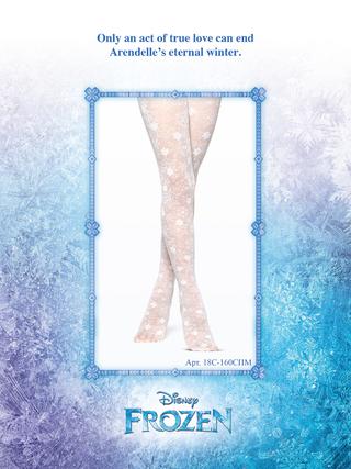 Колготки с рисунками ©Disney Frozen 20