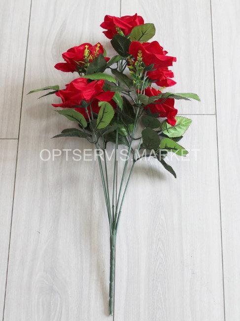 """Букет розы """"Кастория"""", арт.С144,h 59см, 7 голов d 10см"""