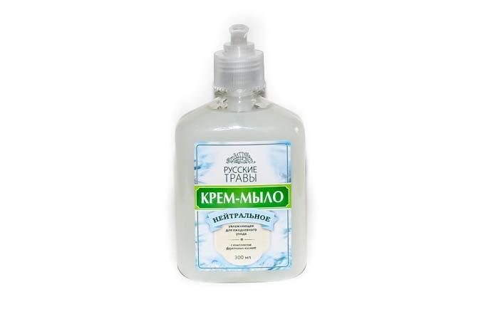 К06-03 Русские Травы Крем-мыло 300мл Нейтральное