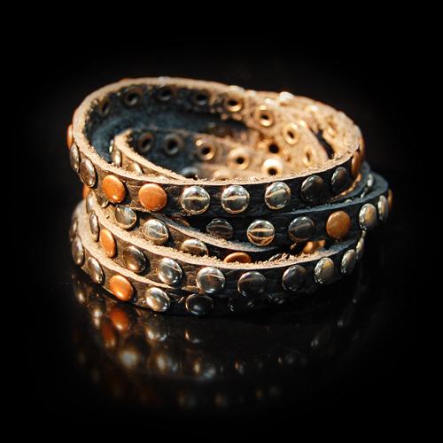 Кожаный браслет 06080160