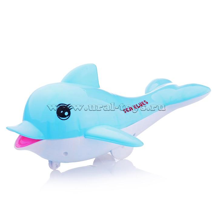 """Заводная игрушка 575-29 """"Дельфинчик"""" в пакете"""