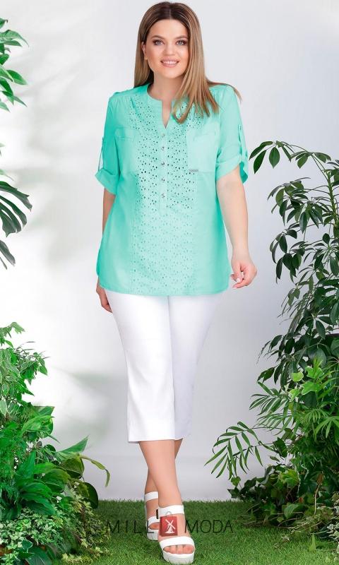 Блуза Lenata 12895 мята