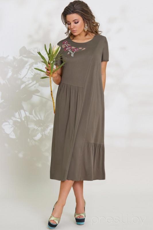 Платье Vittoria Queen 7943/1 хаки