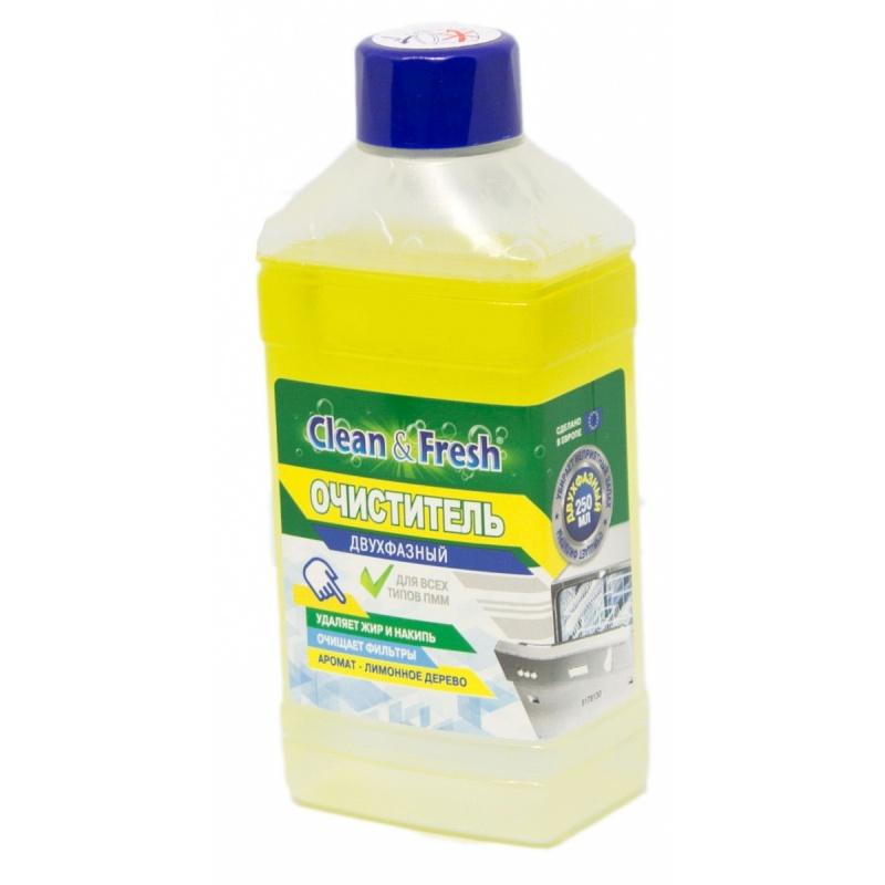 "Очиститель для ПММ \""Clean&Fresh\"" 250 мл, Лимонное дерево"