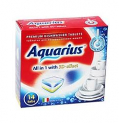 """Таблетки для ПММ \""""Aquarius\"""" ALLin1 (mini) 14 штук"""