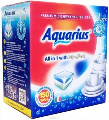 """Таблетки для ПММ \""""Aquarius\"""" ALLin1 (mega) 150 штук"""