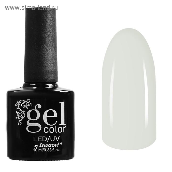 Гель-лак для ногтей трёхфазный LED/UV, 10мл, цвет В1-001 белый