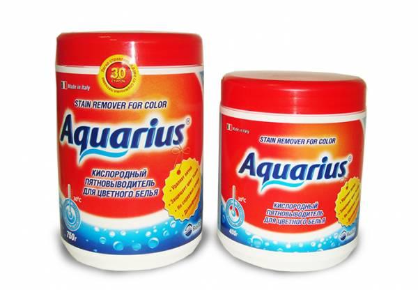 """Пятновыводитель для цветного белья \""""AQUARIUS OXY\"""" Италия 400 г"""