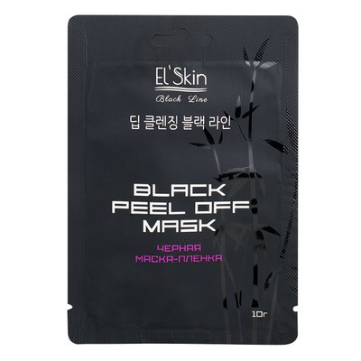 EL\' Skin Черная маска-пленка