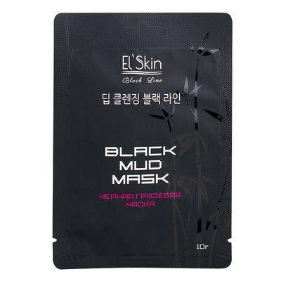 EL\' Skin Черная грязевая маска