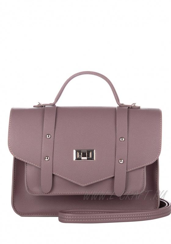 Модель №V129 | кожзам | гладкий | фиолетовый | Р816-33 | 25052