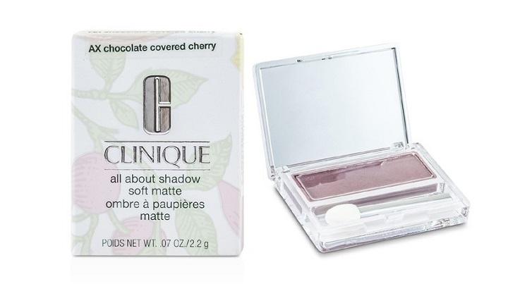 CLNQ Тени для век Soft matte 2.2г AX chocolate covered cherry