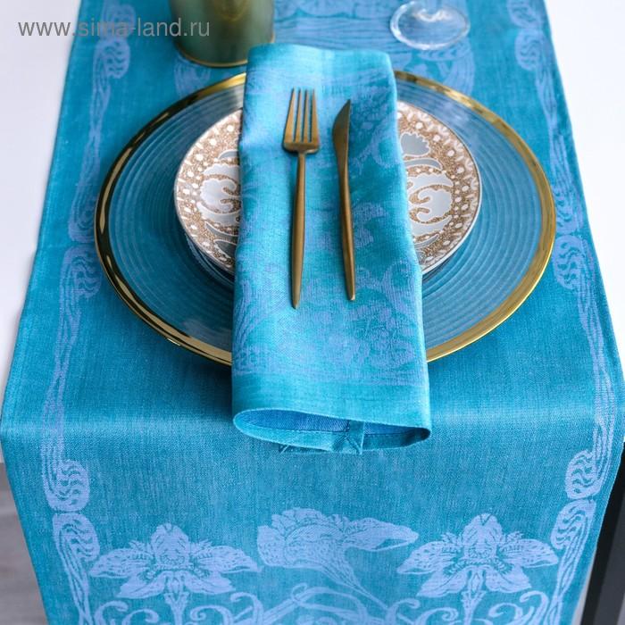 Набор салфеток на стол Этель Лён «Луиза» 30×30 ± 3 см - 4 шт., 100% лён