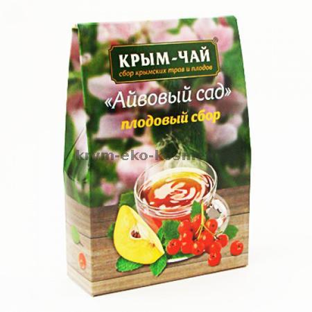 Серия плодовых чаев «Айвовый сад» Тм Крым-Чай