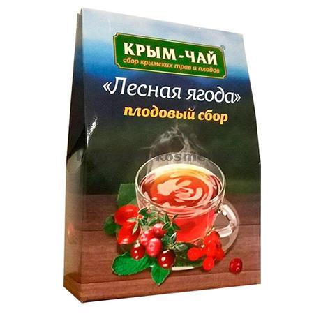 Серия плодовых чаев «Лесная ягода» Тм Крым-Чай