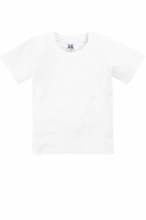 Белая футболка детская K&R BABY
