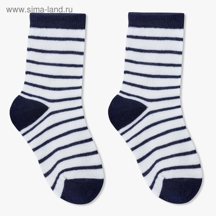 Носки детские Ft-641-L-18+2 цвет синий, р-р 18-20