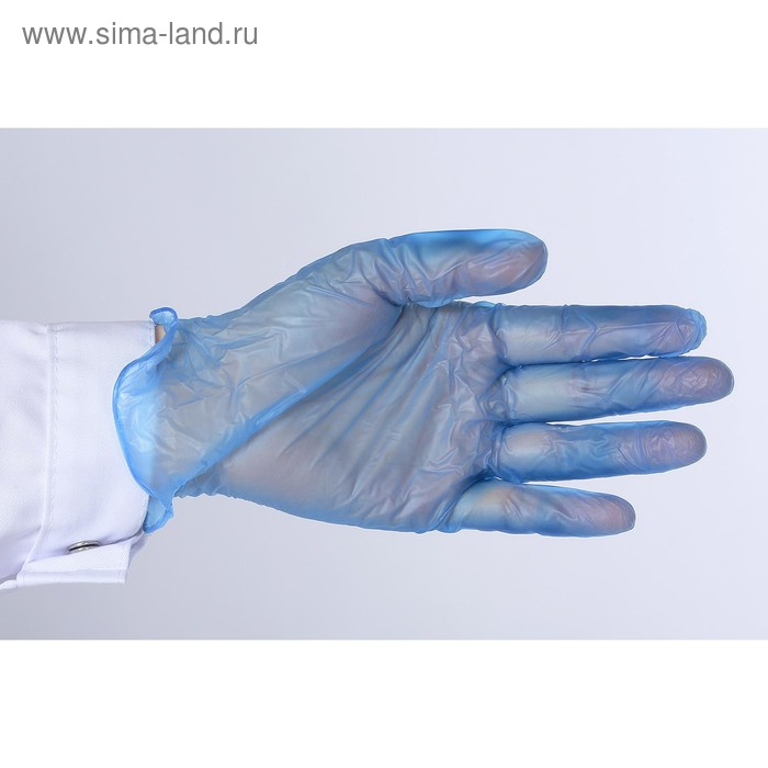 Перчатки виниловые неопудренные нестерильные M