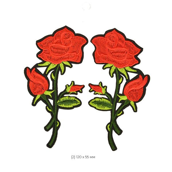 Набор термоаппликаций Розы 3 уп.2шт