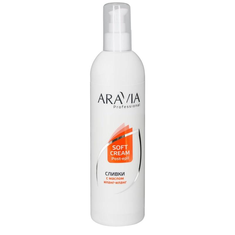 Сливки для восстановления рН кожи с маслом иланг-иланг, 300 мл, ARAVIA Professional