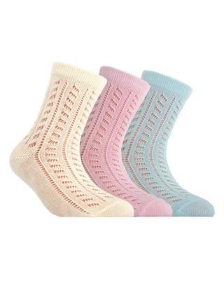 Носки хлопковые детские MISS (ажурные)