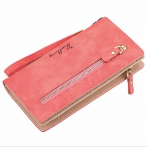 Женский кошелек - бумажник W-1608-RED