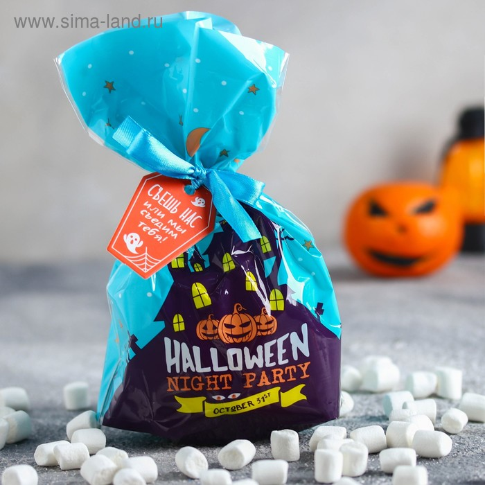 Маршмеллоу «Halloween», пломбир и ваниль, 50 г