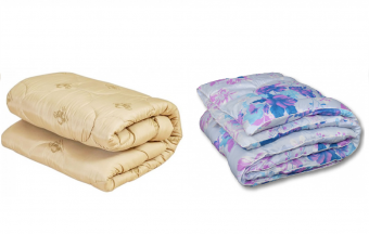"""Одеяло Medium Soft """"Стандарт"""" Merino Wool (овечья шерсть) 2 спальное"""
