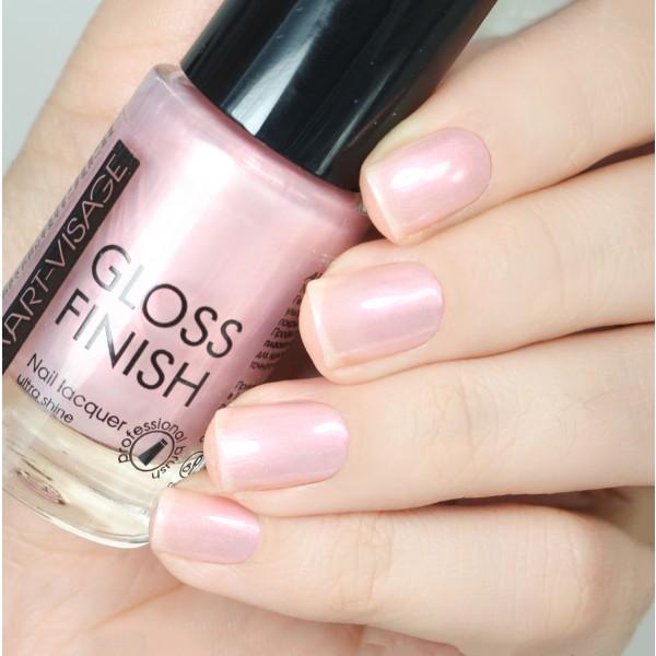 "ART-VISAGE Лак для ногтей \""GLOSS FINISH\"""